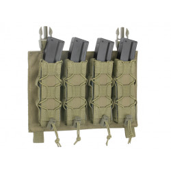 8FIELDS quad BUCKLE UP pouch for MP5 MP7 MP9 & Kriss vector Magazine - OD