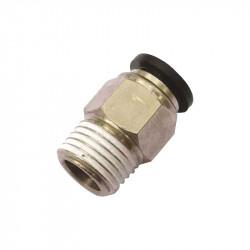 Adaptateur 1/8 NPT male pour flexible 6mm -