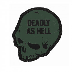 Deadly As Hell - Velcro patch