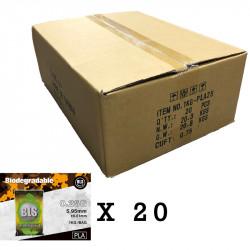BLS bille bio 0.25gr 1 carton de 20 sachets 1kg