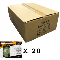 BLS bille bio 0.28gr 1 carton de 20 sachets 1kg