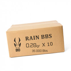 BO RAIN 595 - 3500 Billes - 0,28g au carton ( 35000 bbs)