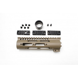 """FCC Midwest Industries 7"""" GEN2 SS-Series (Magpul FDE)"""