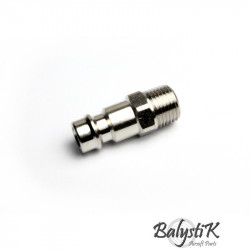 BalystiK coupleur male avec entrée 1/8 NPT male (version EU) - Powair6.com
