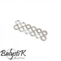 Balystik set de rondelles de calage pour pignon moteur PTW