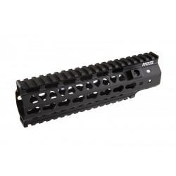 G&P RIS MOTS 8 inch Keymod pour M4 AEG (noir)