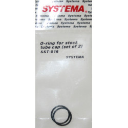 Systema set de 2 O-Rings pour bouchon de tube crosse