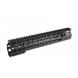 G&P RIS MOTS 10.75 inch Keymod pour M4 AEG (noir)