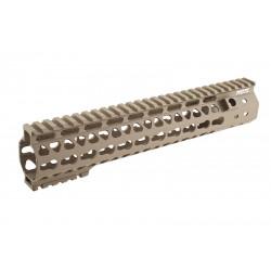 G&P RIS MOTS 10.75 inch Keymod pour M4 AEG (tan)