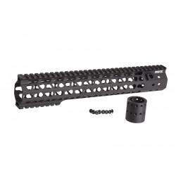 G&P RIS MOTS 12.5 inch Keymod pour M4 AEG (noir)