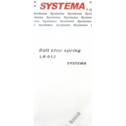 Systema bolt stop spring for PTW -