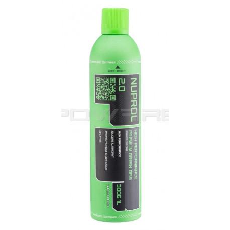 NUPROL GREEN GAS premium 2.0 650ml 145PSI -