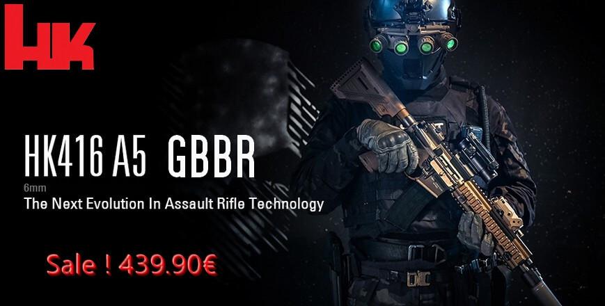 HK416 A5 GBBR